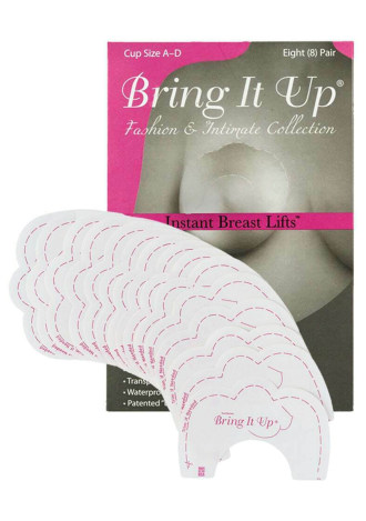 Bring It Up Breast Lifts - A-D Cup (Pack of 8)
