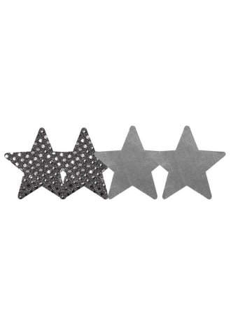 Peekaboos Dark Angel Stars Pasties