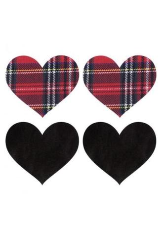 Peekaboos Schoolgirl Hearts Pasties