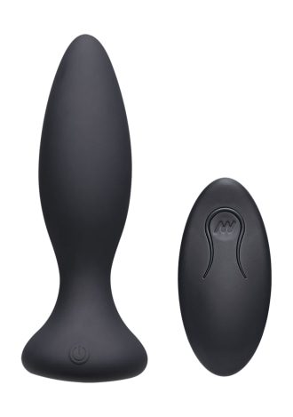 A-Play - Vibe - Rechargeable Silicone Anal Plug with Remote