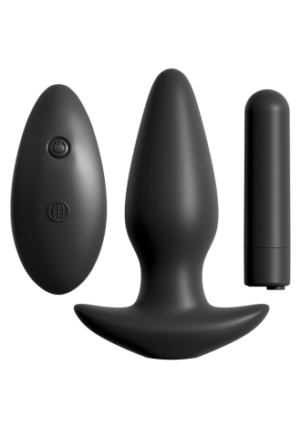 Anal Fantasy Collection Remote Control Silicone Plug
