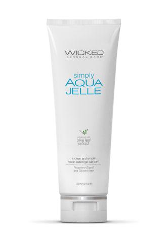 Wicked Simply Aqua Jelle Lubricant