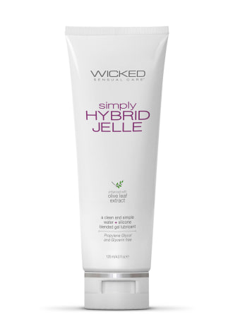 Wicked Simply Hybrid Jelle Lubricant
