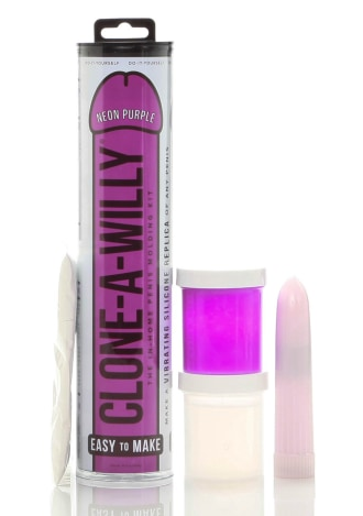 Clone-a-Willy Kit - Neon Purple