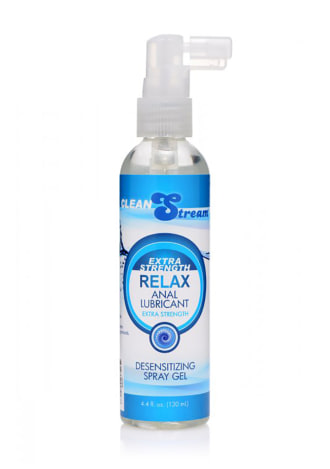 Relax Extra Strength Anal Lube - 4.4 oz.