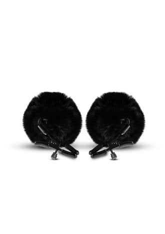 Noir - Pom Adjustable Nipple Clamps
