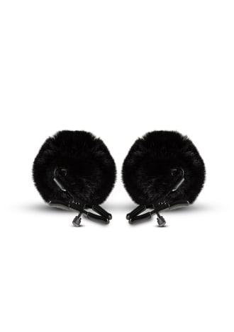 Noir - Pom Adjustable Nipple Clamps