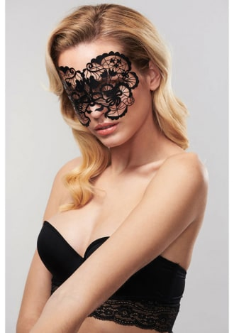 Bijoux Indiscrets Decal Eye Mask - Anna