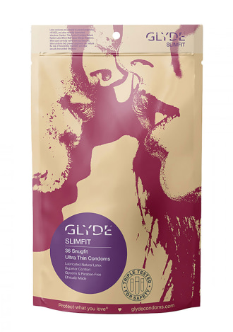 Glyde Slimfit Condoms 36 Pack