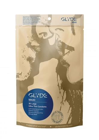Glyde Maxi Condoms 36 Pack