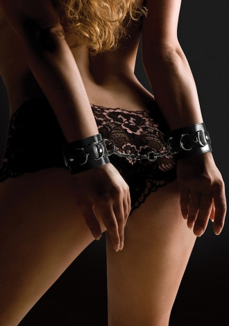 Ouch! Leather Cuffs