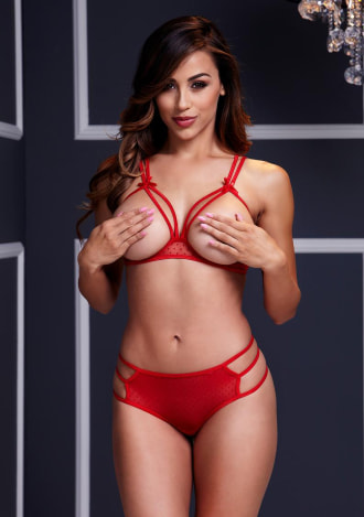 Strap-Tied Two Piece Set