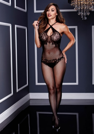 The Illusionist's Sheer Body Stocking