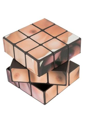 Boob Cube 3-D Combination Puzzle