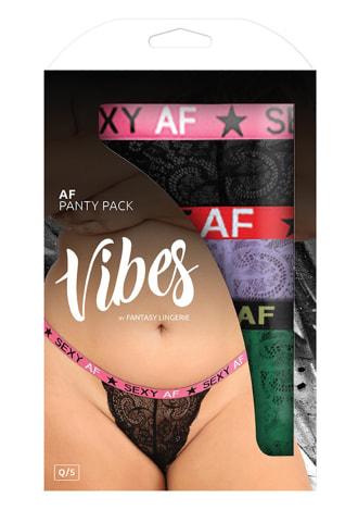 AF Panty 3-Pack - Queen Size