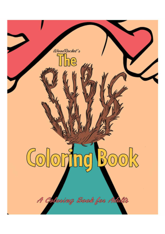 Pubic Hair Coloring Book