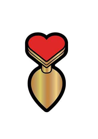 Heart Butt Plug Pin