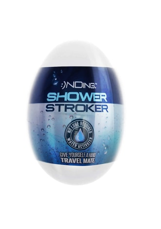 Happy Ending Shower Stroker Self Lubricating Travel Mate