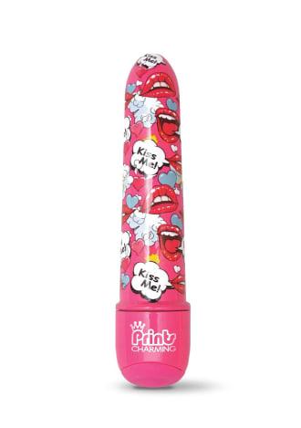 "Prints Charming Pop Tease 5"" Mini Vibe - Kiss Me Pink"