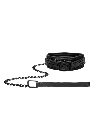 Ouch! Luxury Collar with Leash