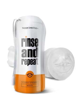 Happy Ending Rinse And Repeat Classic Stroker Masturbator - Mouth