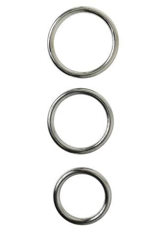 Seamless Metal O-Ring - 3 Pack