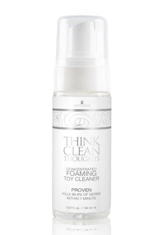 Think Clean Thoughts Foaming Toy Cleaner