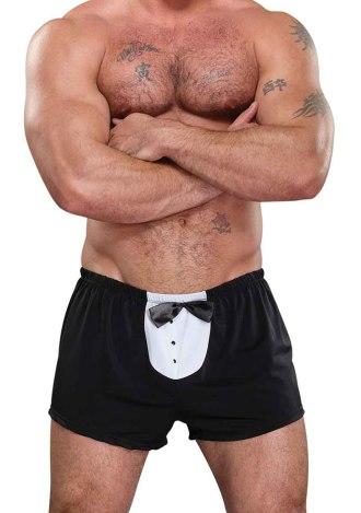 Tuxedo Boxer