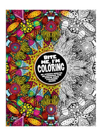 BITE ME, I'm Coloring Book