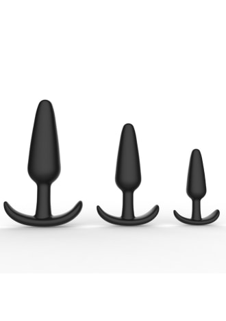 Curious Level Up Anal Trainers 3 Piece Anchor Set