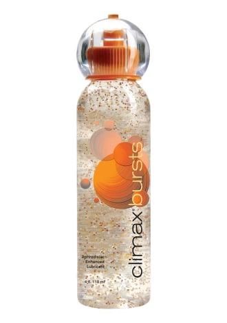 Climax Bursts Aphrodisiac Enhanced Water Base Lube 4 oz.