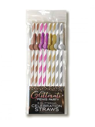 Glitterati Tall Straws