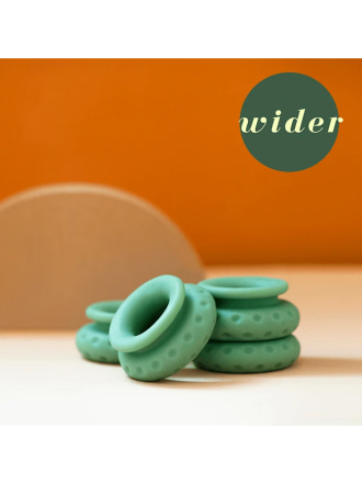 OhNut Wider Stackable Rings