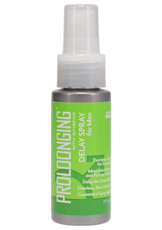 Proloonging with Ginseng - Delay Spray For Men