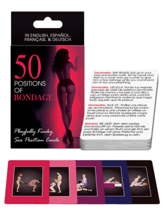50 Positions of Bondage Cards