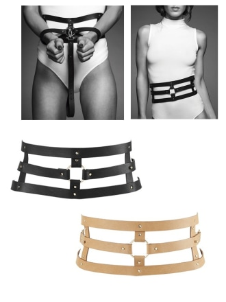 MAZE Wide Belt and Restraints