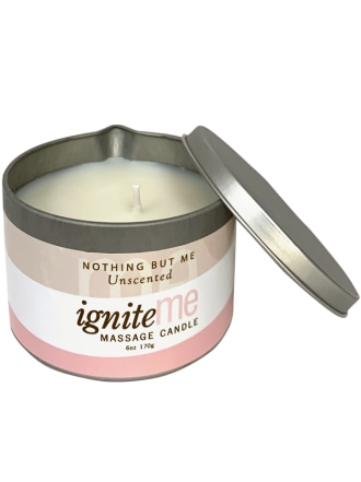 Ignite Me Massage Candle Nothing But Me (Unscented)