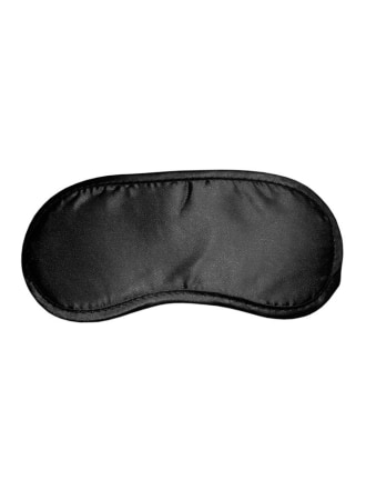 Black Satin Blindfold