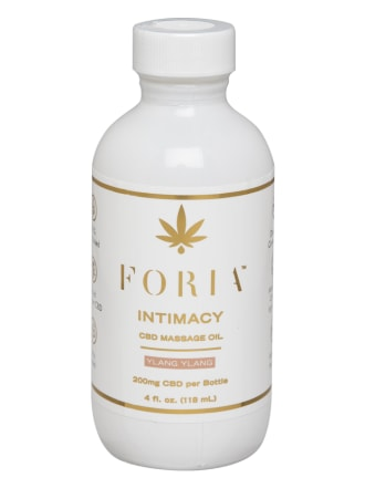 Foria Intimacy CBD Massage Oil