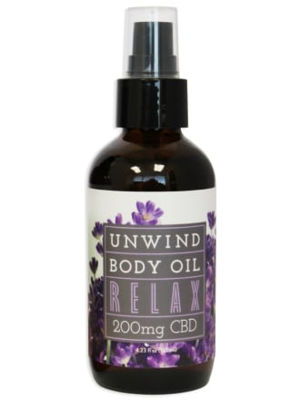 Unwind CBD Body Oil