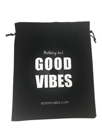 Good Vibrations Drawstring Bag
