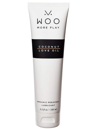 Woo More Play Coconut Love Oil 3.3 Fl Oz