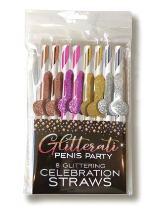 Glitterati Cocktail Straws