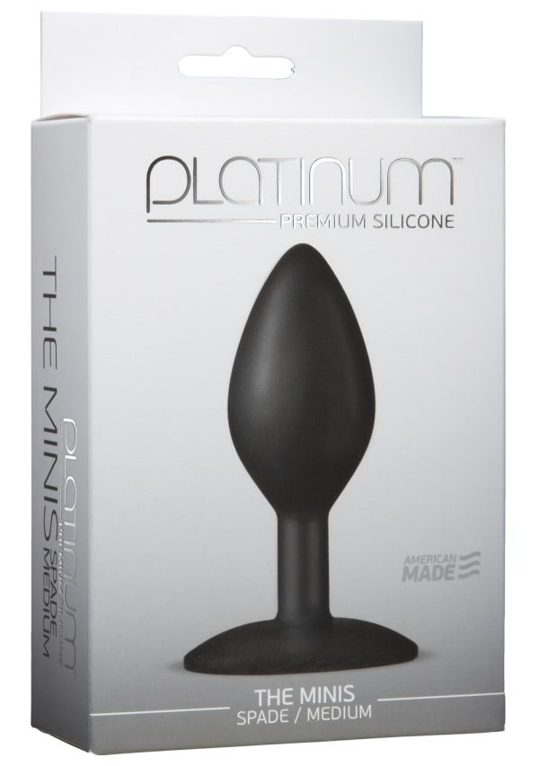 Platinum™ Premium Silicone - The Minis - Spade - Medium Image 1