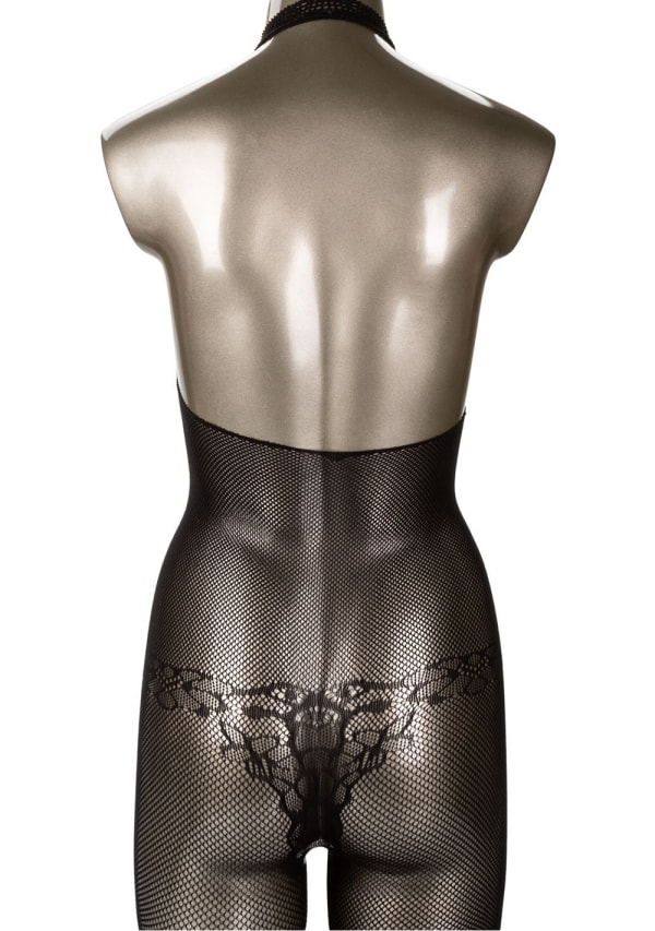Scandal Halter Lace Body Suit  - One Size Image 2