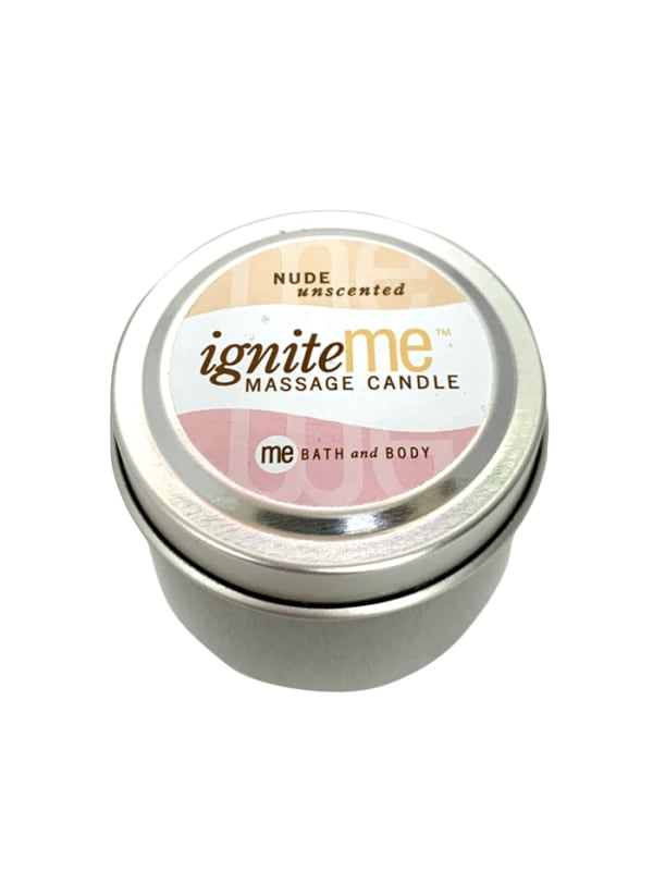 Ignite Me Massage Candle Nothing But Me (Unscented) Image 1
