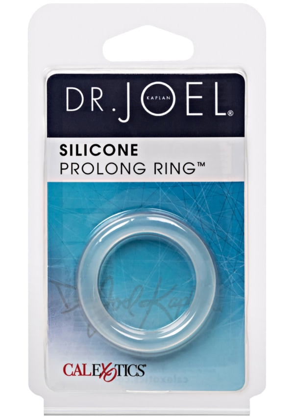Dr. Joel Kaplan Silicone Prolonging Ring - Clear Image 1