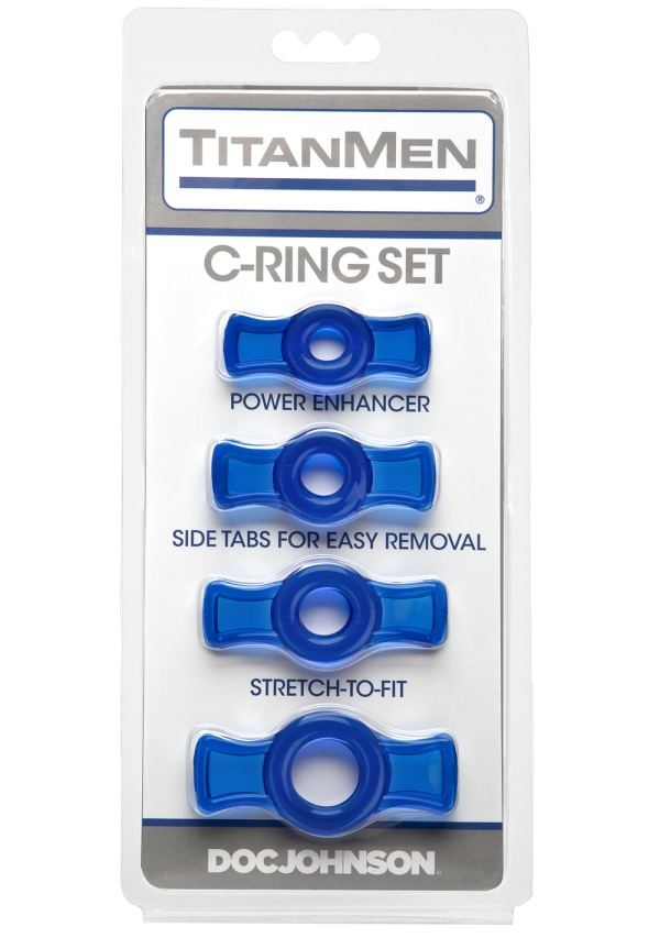 TitanMen® 4 Cockring Set Image 3