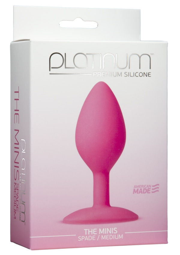 Platinum™ Premium Silicone - The Minis - Spade - Medium Image 3