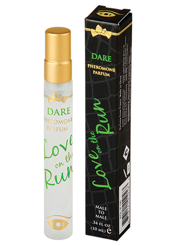 Love On The Run Pheromone Body Spray For Him 10 ml Image 0